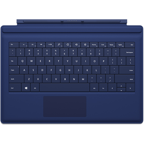 Клавиатура Microsoft Surface Pro 3 Type Cover Navy