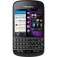 BlackBerry Q10 Black