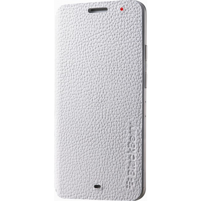 Чехол BlackBerry Z30 Leather Flip Case White